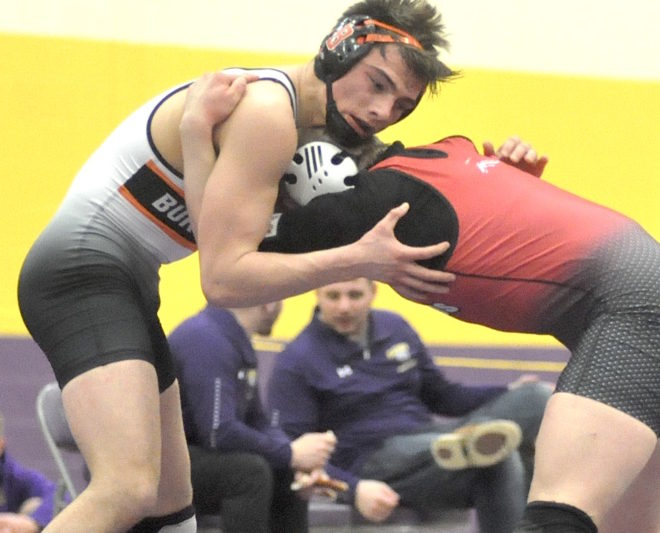 Back to back: Burlington wrestling captures conference championship