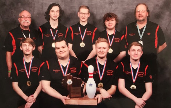 Burlington bowling captures state championship