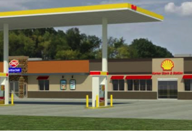 DQ-Shell station set for May groundbreaking
