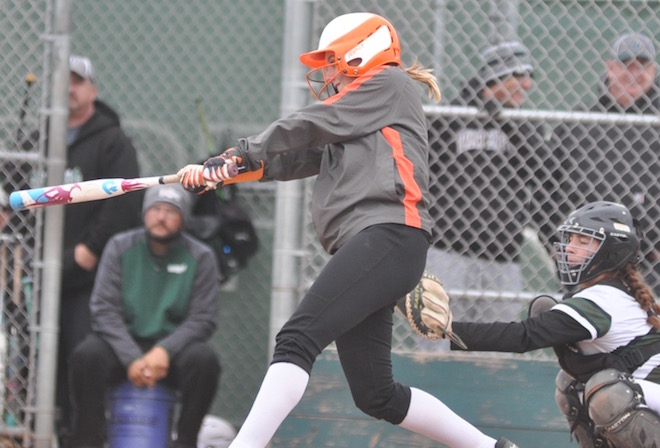 Fiehweg's bomb, Baker's gem boost Wolverines in softball playoff
