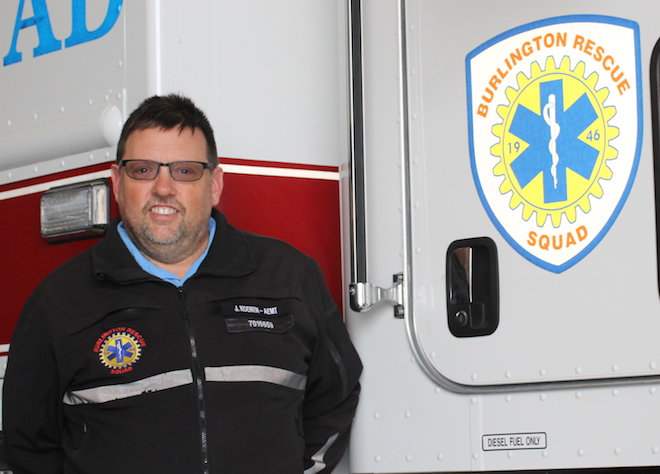 Burlington Rescue Squad to get new leader
