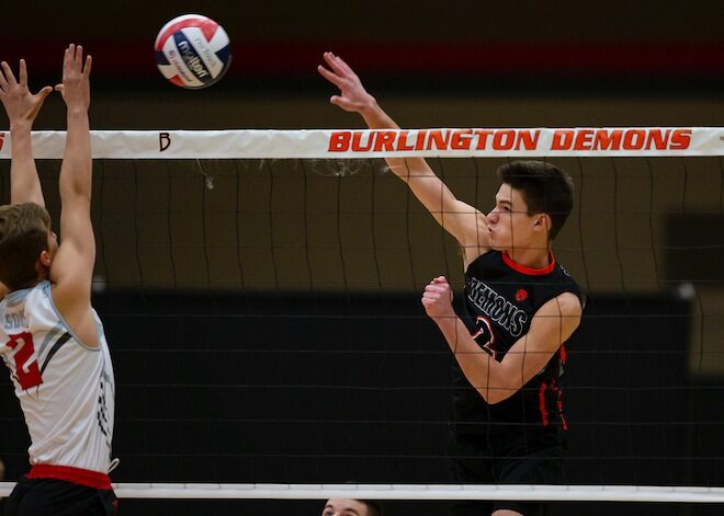 WIAA Boys Volleyball: Burlington stymied at sectionals