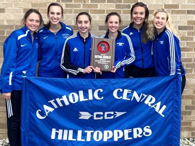 WIAA Cross Country: Catholic Central girls make history