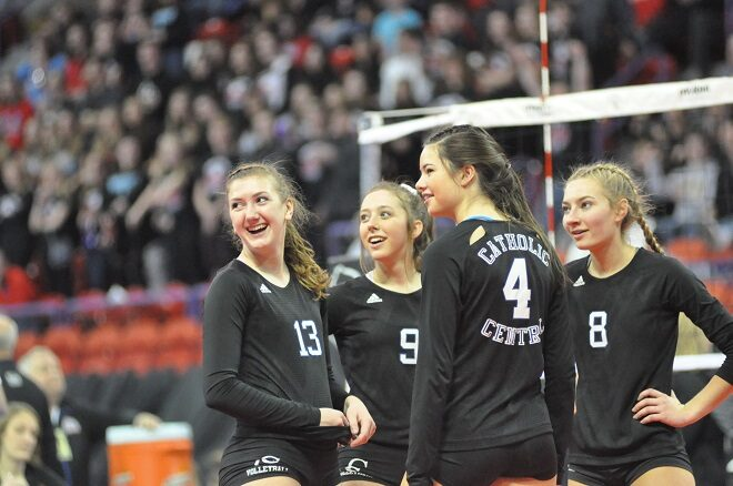 WIAA Volleyball: Seib, 'Toppers head to Division 4 state title match