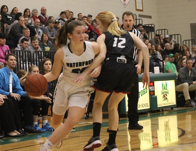 Girls basketball: Waterford girls tip Wilmot in conference clash