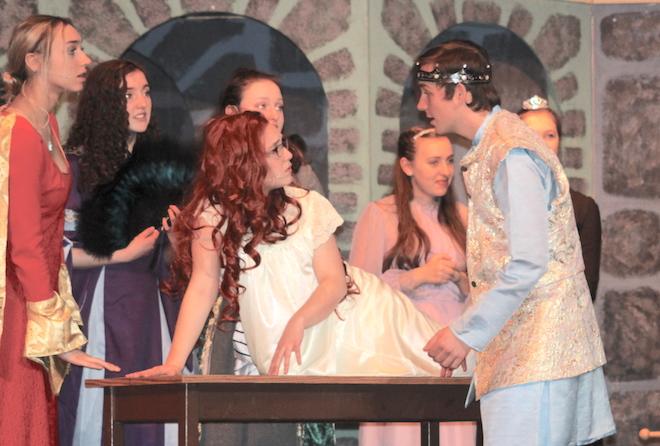 'Once Upon a Mattress' debuts Friday at BHS
