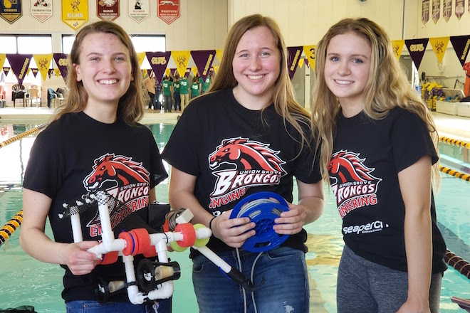 Union Grove takes top spot in robotics competition