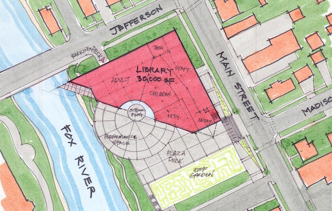 Library floats future building options