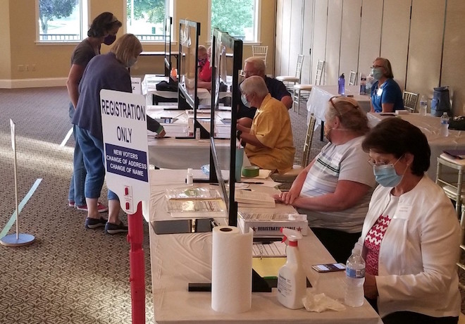 City consolidates polling places