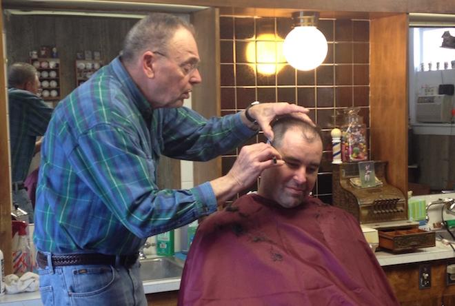 Farewell, humble barber