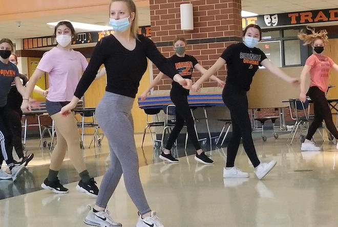 BHS dance team gears up for competition