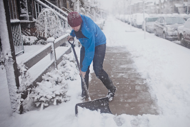 Village wants residents to keep sidewalks shoveled